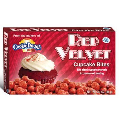 red velvet cookie dough