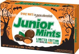 junior mints bomobones chocolate naranja menta