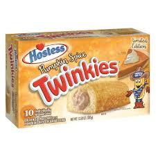 twinkies rellenos con sabor a tarta de calabaza