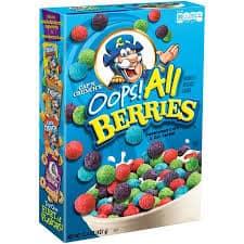cereales de frutos silvestres