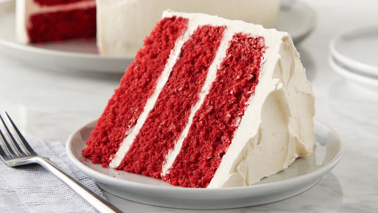 Tarta bizcocho Red Velvet