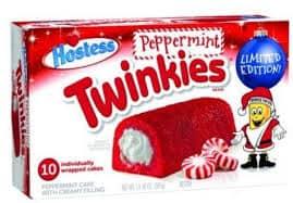 twinkies de menta