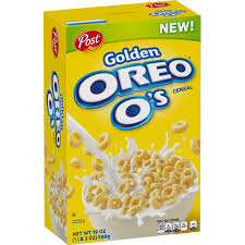 cereal oreo golden