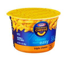 Mac&Cheese Cups, Triple Queso