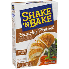 shake and bake pretzel