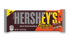hersheys milk chocolate reeses