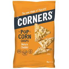 corners pop corn cheddar nature