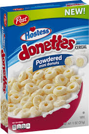 hostess cereal donettes