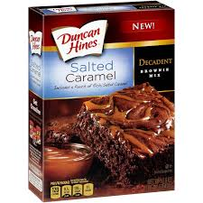 brownie caramelo salado