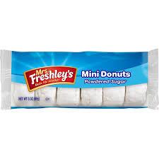 mrs freshleys donettes powdered sugar