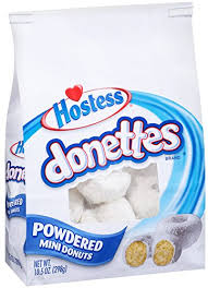 donettes powdered
