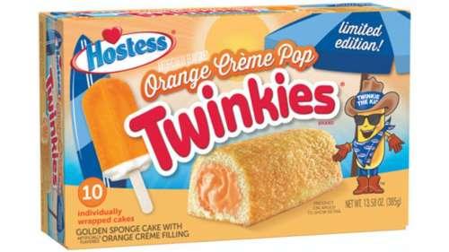 twinkies de naranja y vainilla