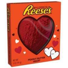 Demuestrale tu amor con este super corazón de Reese's relleno de mantequilla de cacahuete.