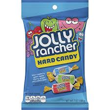 ¡Super ricos, y super acidos! así son los Jolly Rancher, 5 sabores diferentes para disfrutar, arándano,mora,manzana verde, sandía y cereza.