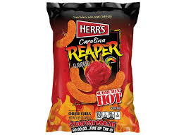Si te gustan las emociones fuertes, Atrévete a pr0bar los nuevos gusanitos Carolina Reaper, ¡son puro fuego!