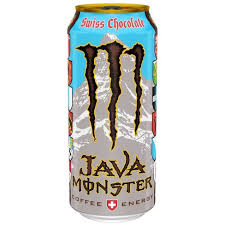 Edición limitada de Monster con café con leche y chocolate suizo