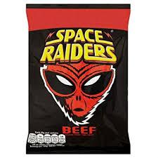 Divertidos gusanitos con cara de Alien y sabor ternera a la barbacoa.