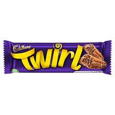 twirl chocolate cadbury