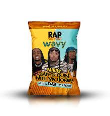 Las patatas Snack Rap ya están aquí! Sus sabores están inspirados en los gustos de raperos de la talla de Cardy B, Notorius Big, Migos o Romeo Miller. Y ahora tú también puedes probarlos!
