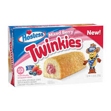 twinkies frutos del bosque