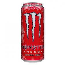 Monster Ultra Red logra combinar la potencia energética de Monster, pero con un toque ligero y fresco y sin azúcar