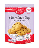 preparado para cookies con chips de chocolate