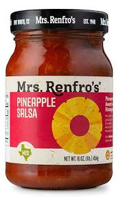 salsa de piña y jalapeño