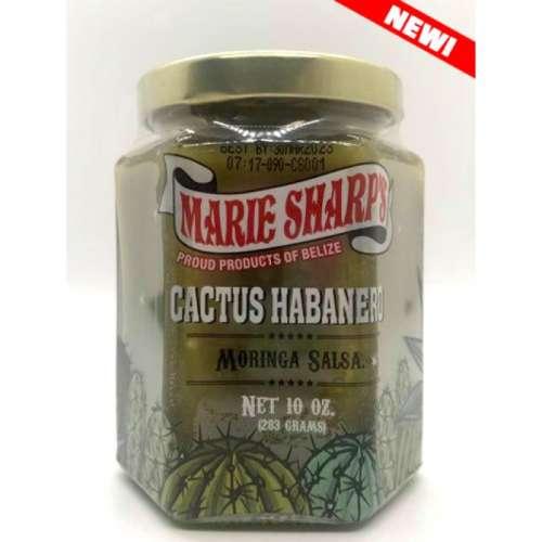Salsa de Cactus con habanero y Moringa