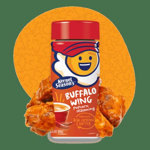 Sazonador sabor salsa buffalo wing
