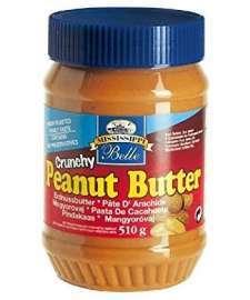 Mantequilla de cacahuete crujiente