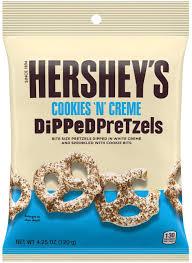 pretzel cookies creme