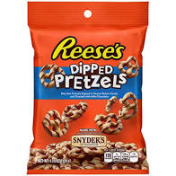 pretzel reeses