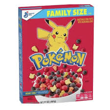 cereales pokemon