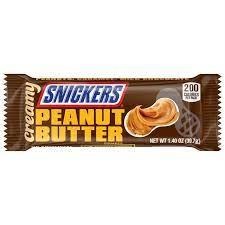 Snickers con mantequilla de cacahuete y caramelo