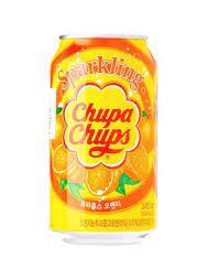 refresco chupa chups de naranja
