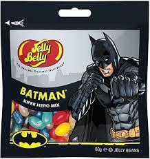 Gominolas Jelly Belly acidas inspiradas en Batman