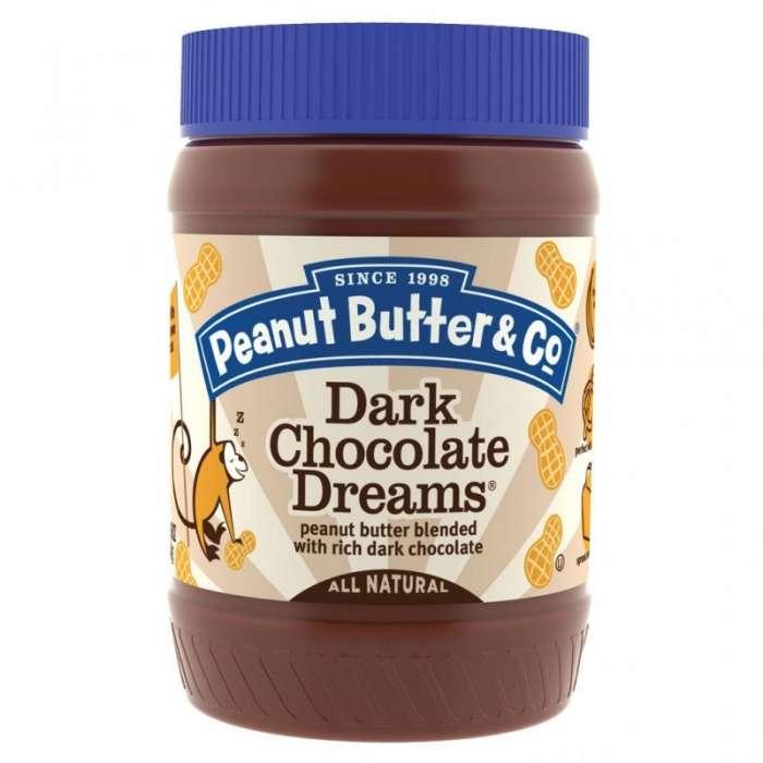 mantequilla de cacahuete con chocolate negro