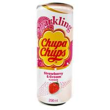 refresco chupa chups fresa y nata