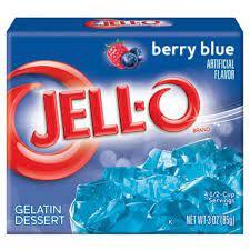 Jell-o Berry Blu