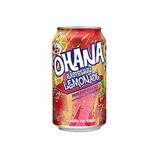 limonada con frambuesa