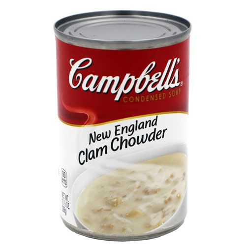 sopa de almeja, clam chowder